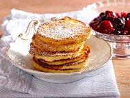 Рецепта Арабски палачинки от грис с мед